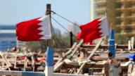 National Flags of Bahrain video