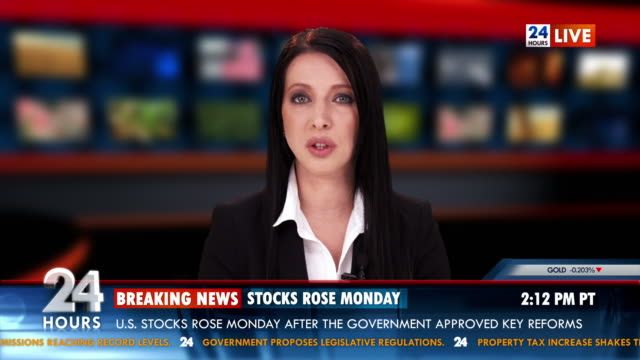 HD: National Stock Exchange News video