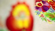 National Ukrainian embroidery video