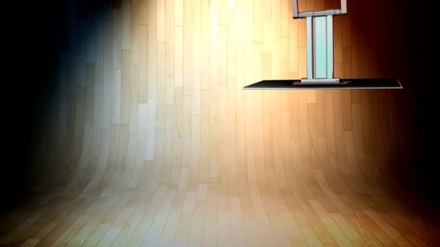 Natual / Wood News Chroma Key Background video