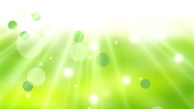Natural Background Green Sparkles (Loopable) video