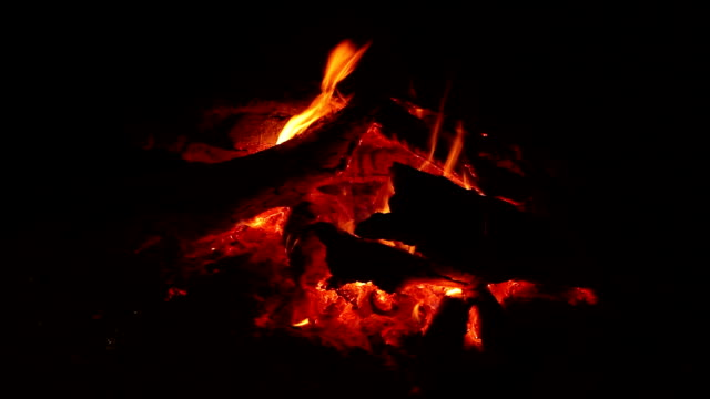 Natural Campfire video