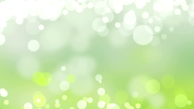Natural Green Sparkle Background.Loopable video