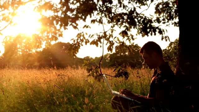 Natural Landscape In The Digital Age video