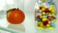 Natural or Artificial Choice Tangerine versus Pills video