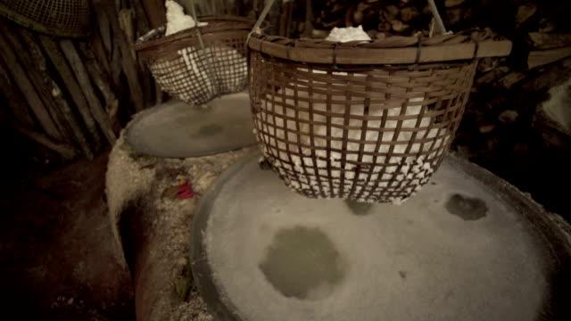 Natural Salt Boiling at Boklua video