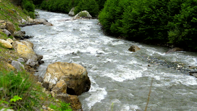 HD Nature: Running Water River video