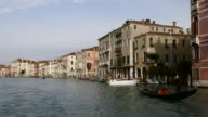 4K Nautical vessels on Grand canal in Venice, Italy video