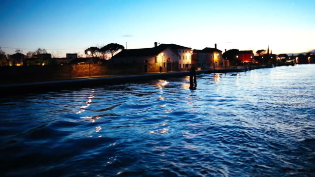 Navigating in Venice, Burano. Part one video