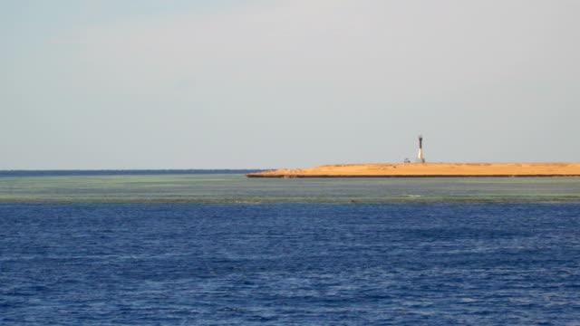 Navigation equipment on a deserted beach video
