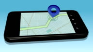 Navigation on Smartphone video