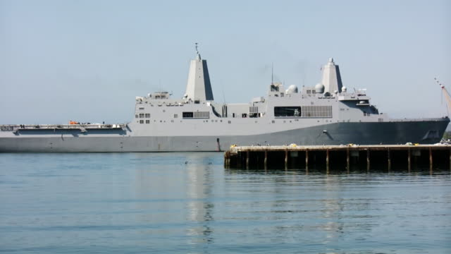 Navy Communications Ship Advancing (HD) video