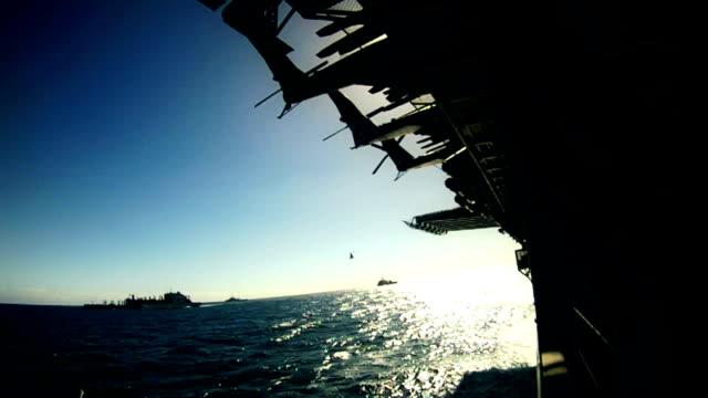 Navy Fleet At Sea video