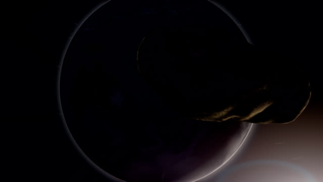 Near-Earth Asteroid Impact video