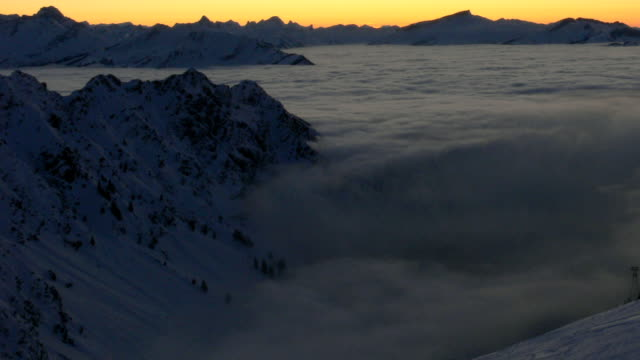 Nebelhorn Alps video