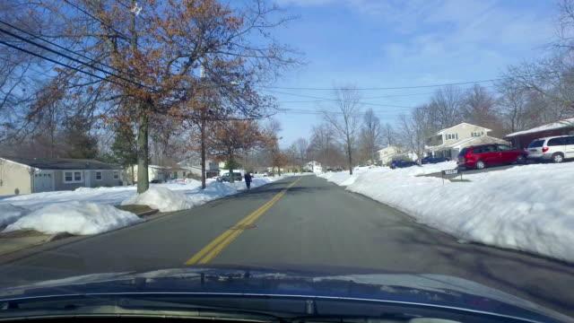 US neighborhoods:  during winter video