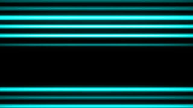 Neon Light Streaks Loop video
