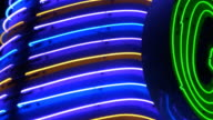 Neon Sign Abstract video