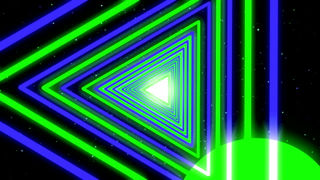 Neon Streaks Disco Led Laser Loop  Background Energy Blue Electric Light Night Party Green Backdrop Shine Colourful. Very useful for backdrops video