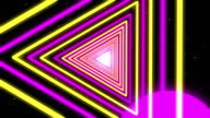 Neon Streaks Disco Led Laser Loop  Background Energy Pink Electric Light Night Party Yellow Backdrop Shine Colourful. Very useful for backdrops video
