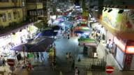 Neon-lighted Mongkok of Hong Kong video