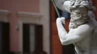 Neptune Statue Masterpiece in Rome video