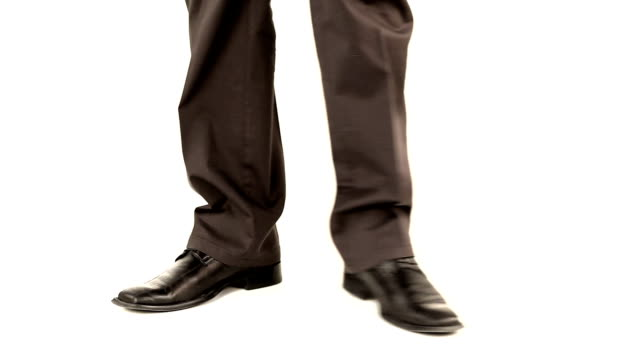 Nervous businessman video