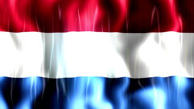 Netherlands Flag Animation video