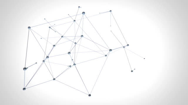 Network connections. 2 colors in 1 file. Gray/black. video