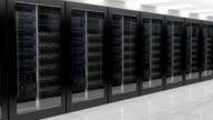Network Server panning camera shot video