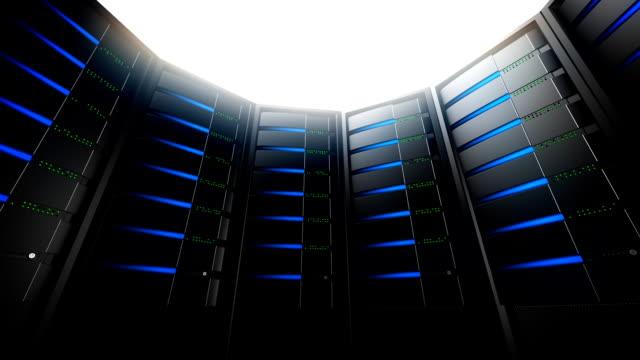 Network Servers in Circle (Loop) video