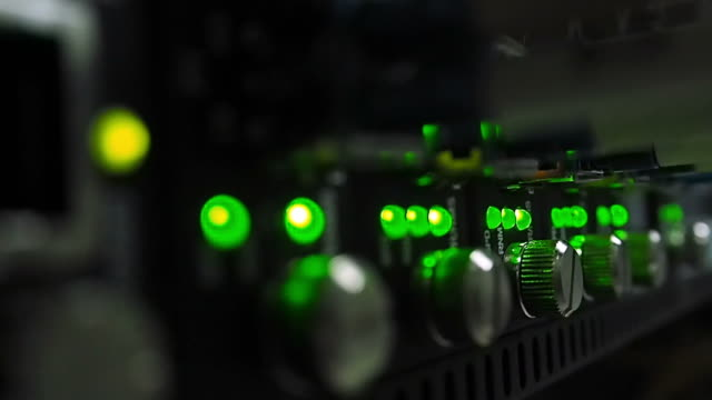 Network switch flashing video