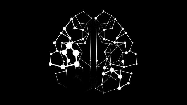 neuronal brain animation video