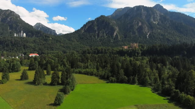 Neuschwanstein And Hohenschwangau Castles In Bavaria video
