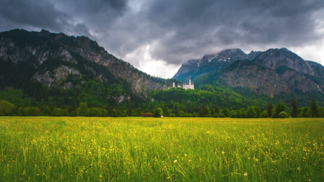 Neuschwanstein castle video