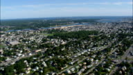 New Bedford  - Aerial View - Massachusetts,  Bristol County,  United States video