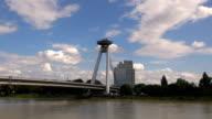 New Bridge - Bratislava, Slovakia video