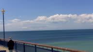 New Brighton Pier in Christchurch New Zealand video