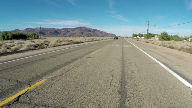 New car on the old road video
