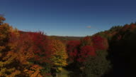 New England Foliage By Drone video
