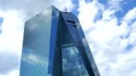 New European Central Bank Headquarters In Frankfurt video