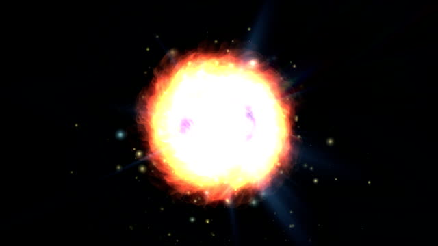 new galaxy explosion video