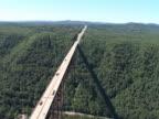 New River Gorge Bridge - Aerial Footage video