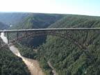New River Gorge Bridge Aerial video