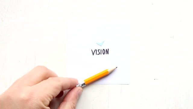 New vision and perspective concept. video