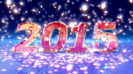 HD: New Year 2015 animation video