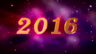 HD: 2016 New Year Animation video