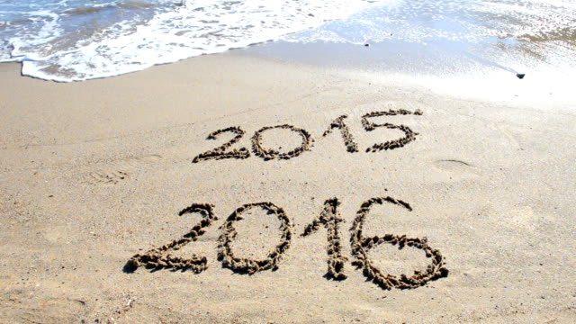 New Year at the Beach video