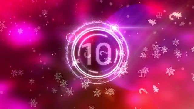 New Year Countdown video