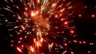 New Year fireworks video